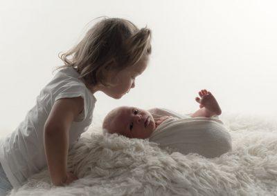 Newborn fotoreportage Guus