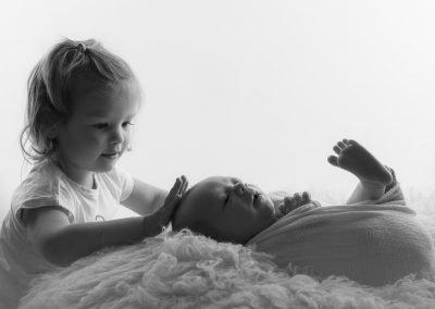 Newborn fotoreportage fotostudio Eindhoven - Astrid Timmers