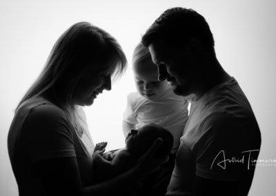 Newborn fotoshoot Lara