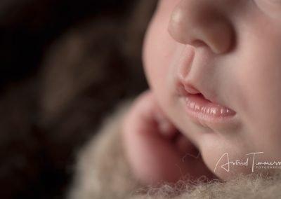 Newborn fotoreportage Lara