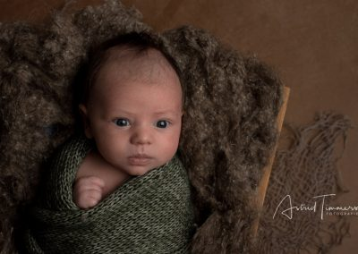 Newborn fotoreportage Teun