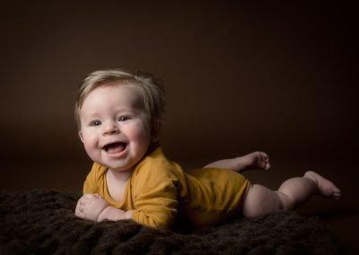 Baby fotoshoot Eindhoven met 6 maanden